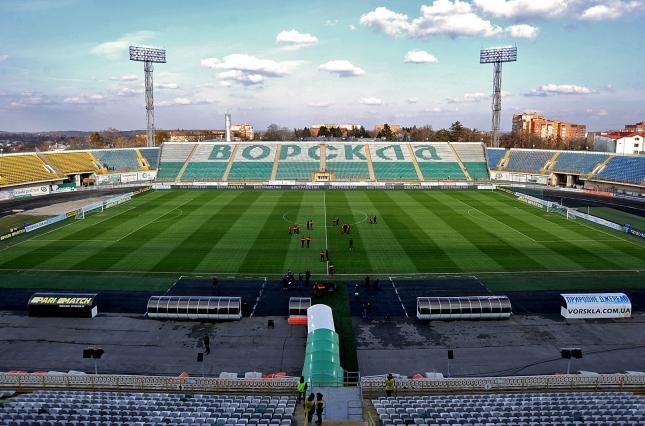 Сборная Украины по футболу может впервые сыграть в Полтаве