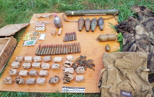 В Луганской области нашли арсенал боевиков