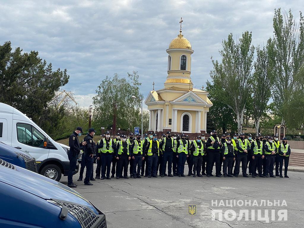 День Победы в Николаеве. Полиция напомнила об ответственности за георгиевскую ленту (ФОТО) 5