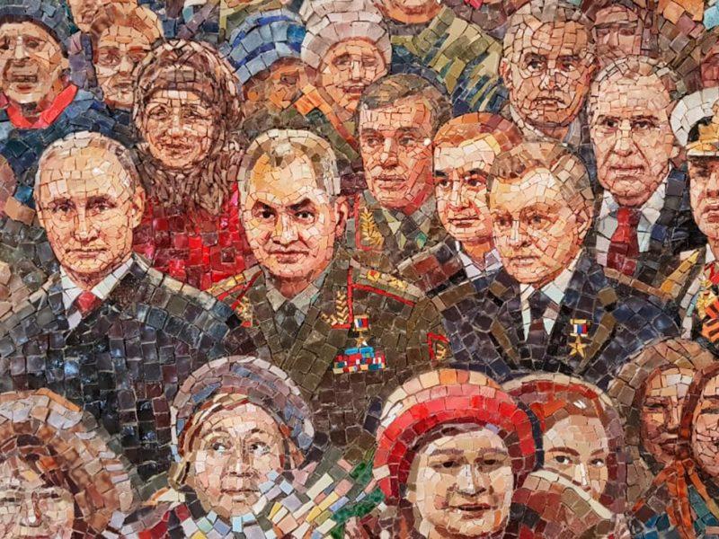 В главном храме Вооруженных сил России мозаику Путина заменили на икону (ФОТО)