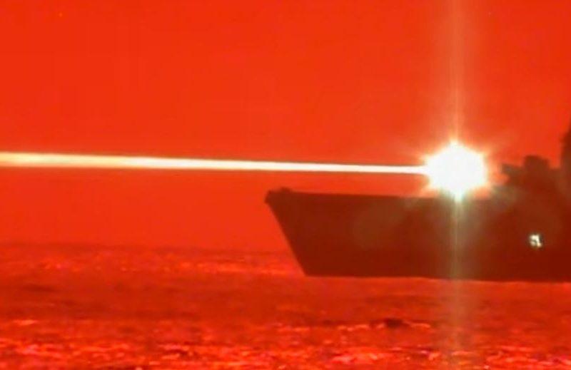 ВМС США показали новый боевой лазер (ВИДЕО)