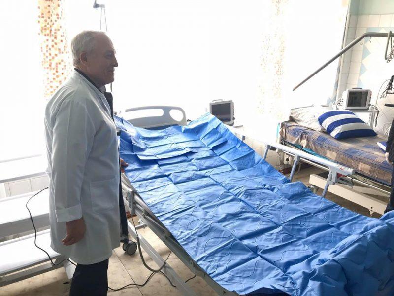Катарская компания QTerminals передала в николаевскую больницу 50 инновационных кроватей для тяжело больных (ФОТО)