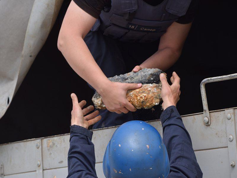 На Николаевщине в акватории Черного моря нашли 40 взрывоопасных предметов (ФОТО, ВИДЕО)