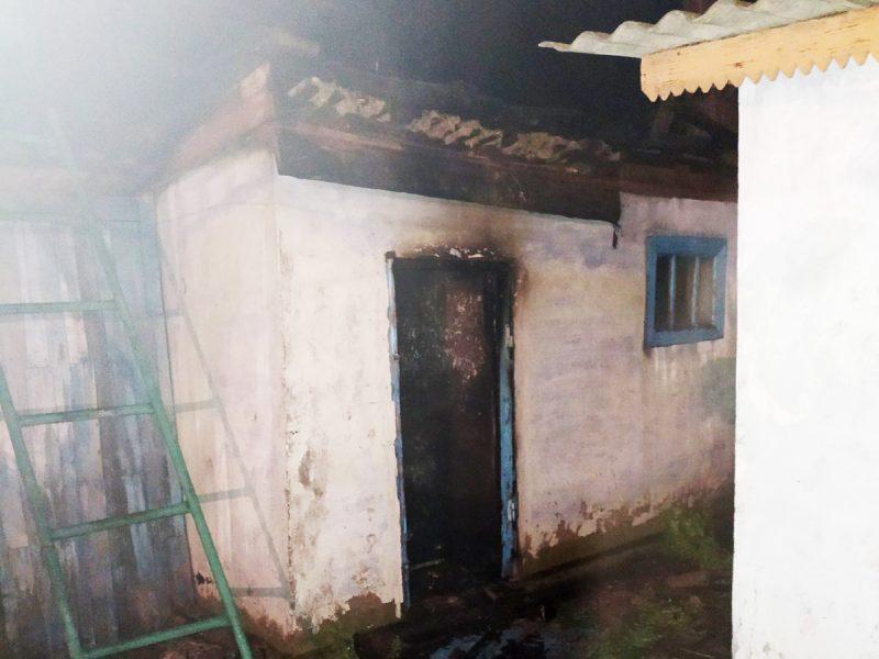 Пожарные во время тушения пожара на Николаевщине обнаружили тело погибшего мужчины