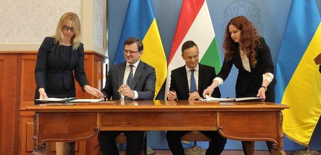 """""""Время перевернуть страницы разъединения"""". Украина и Венгрия возобновили диалог"""
