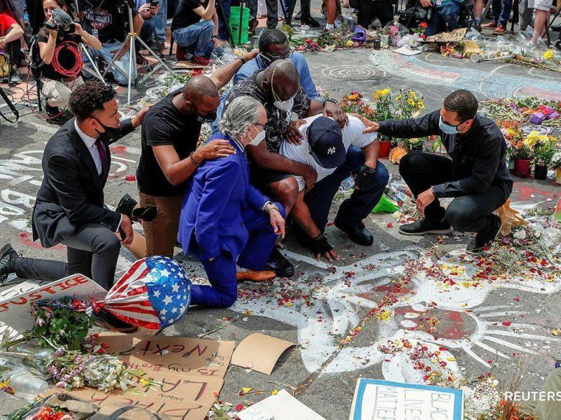 Громкое убийство афроамериканца в США. Суд признал полицейского виновным, реакция Байдена и новое убийство