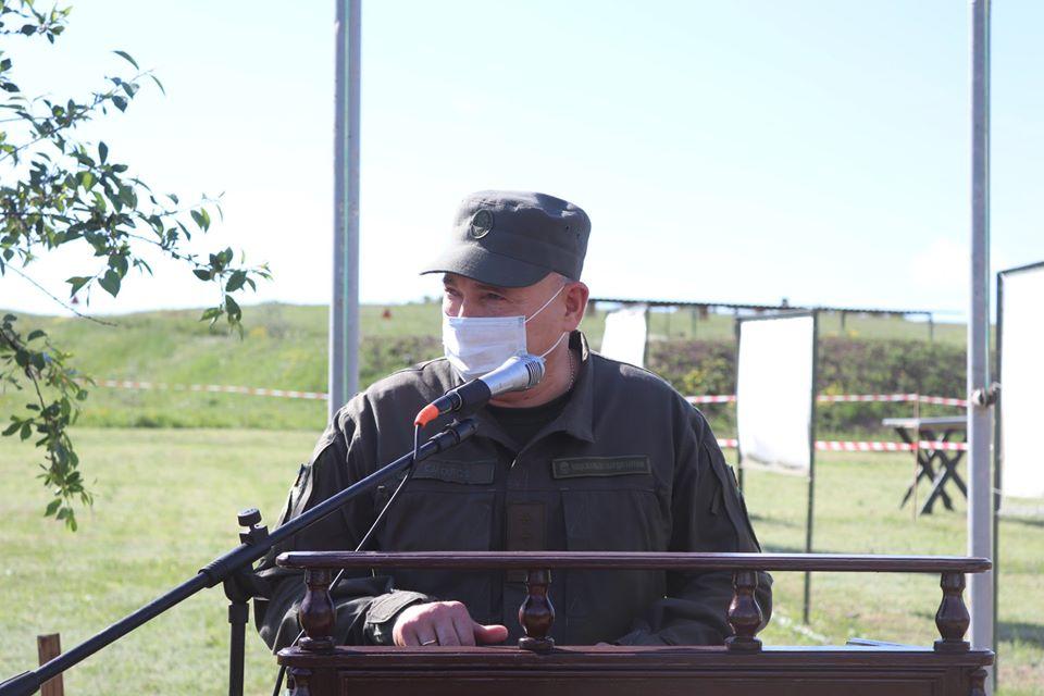 На базе Николаевского полка Нацгвардии начались специальные сборы с экипажами БТР Южного ОТО (ФОТО) 3