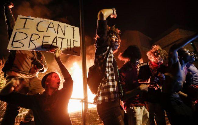 Митинги в поддержу Джорджа Флойда распространились на Лондон (ВИДЕО)