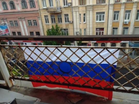 """В Донецке боевики похитили гражданку Испании из-за """"неуважения"""" к российскому флагу"""