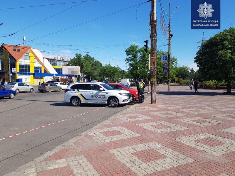 Патрульные предлагают разработать схему безопасного движения у Николаевского зоопарка (ФОТО)