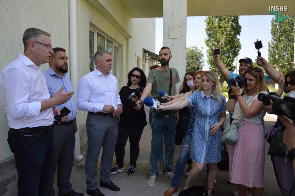 В Николаеве показали состояние Галициновских очистных сооружений (ФОТО и ВИДЕО) 1