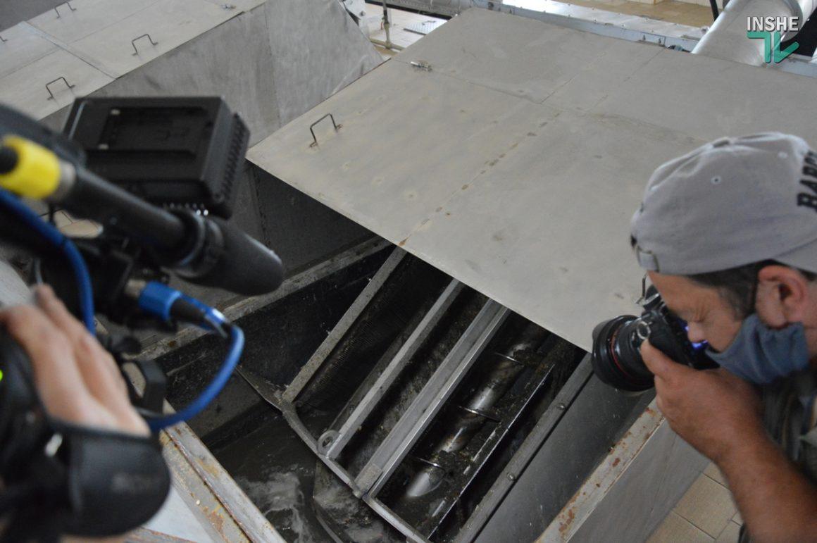 В Николаеве показали состояние Галициновских очистных сооружений (ФОТО и ВИДЕО) 7