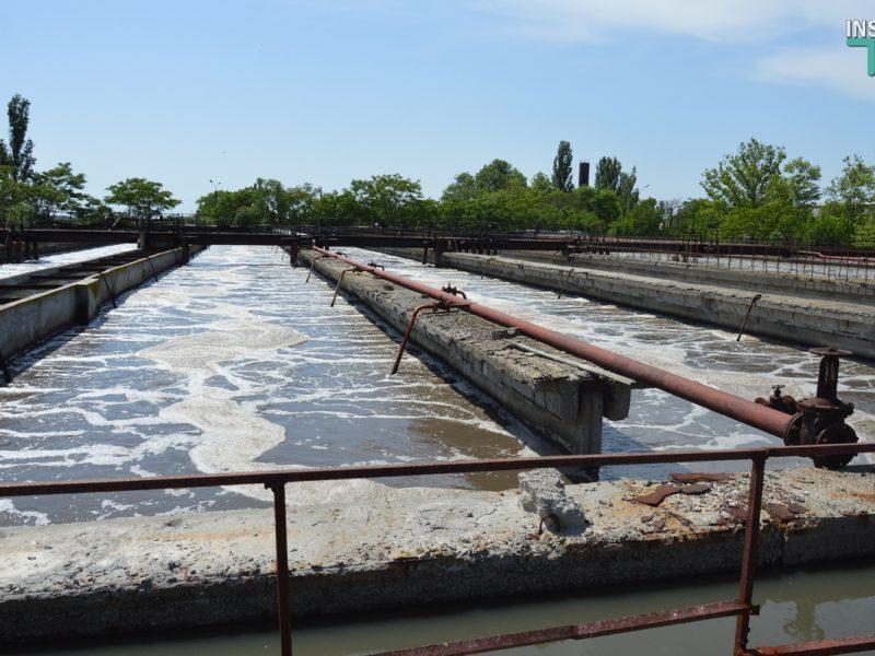 В Николаеве показали состояние Галициновских очистных сооружений (ФОТО и ВИДЕО)