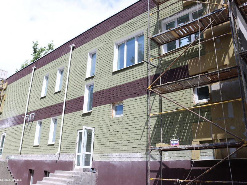 Новое здание городского Центра поддержки внутренне перемещенных лиц и ветеранов АТО хотят отремонтировать к осени (ФОТО)