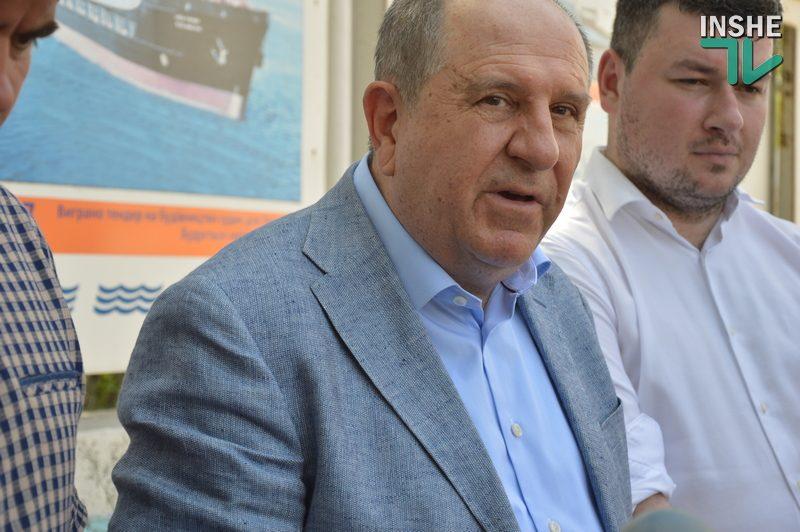 С Николаевского судозавода «Океан» снят арест – Василий Капацына