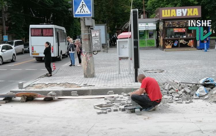 Почетные плиточники Николаева: кто зарабатывает на замене тротуаров в городе? 1