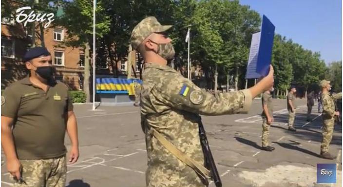 В Николаеве в Учебном центре ВМС приняли присягу почти 200 курсантов (ВИДЕО)