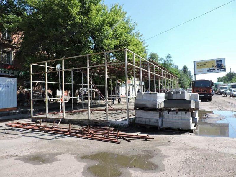 За снос незаконного рынка «Клаксон» с Николаевского горсовета через суд пытаются взыскать 140 тыс.грн. (ФОТО)