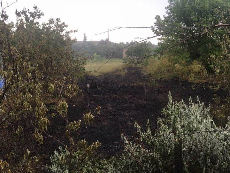 За сутки в Николаевской области выгорело 2 га открытых территорий