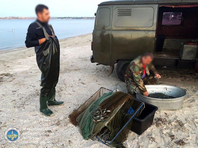 У Рыбаковки и Коблево Николаевский рыбоохранный патруль поймал браконьеров (ФОТО)