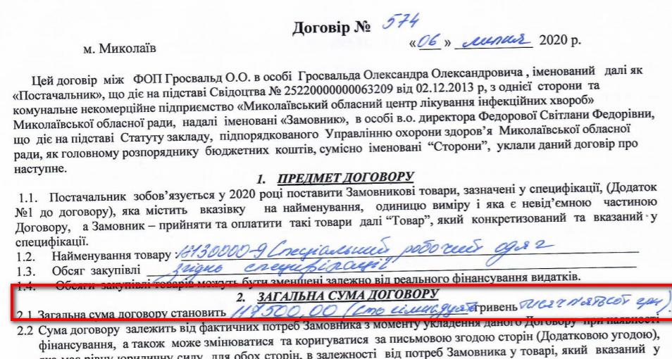 """По какой же цене Николаевская """"инфекционка"""" купила 500 одноразовых костюмов биозащиты? 7"""