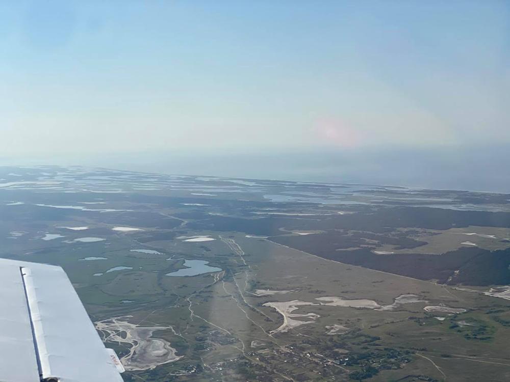 В связи с чрезвычайной пожароопасностью за лесами Николаевщины следят с высоты (ФОТО) 1