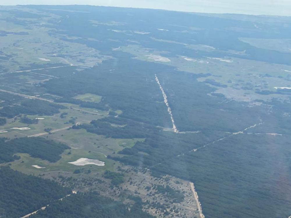 В связи с чрезвычайной пожароопасностью за лесами Николаевщины следят с высоты (ФОТО) 3
