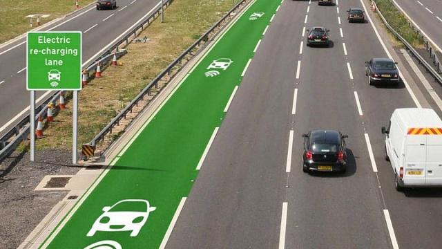 В Швеции строят дорогу, заряжающую электромобили