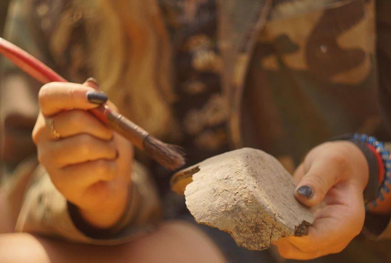 В Запорожской области археологи нашли редкие сокровища скифов и ногайское захоронение (ФОТО)