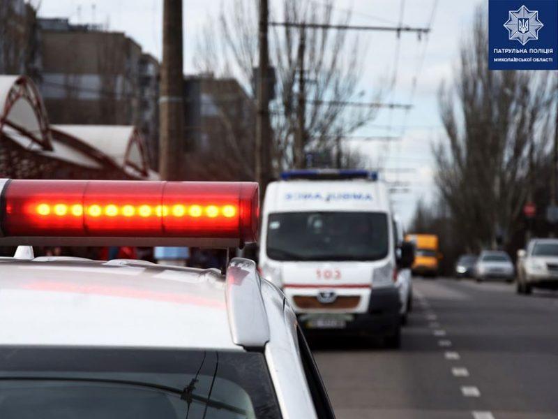 В Николаеве проверяют, как водители уступают дорогу «скорым» и патрульным – шестеро не уступили (ФОТО)
