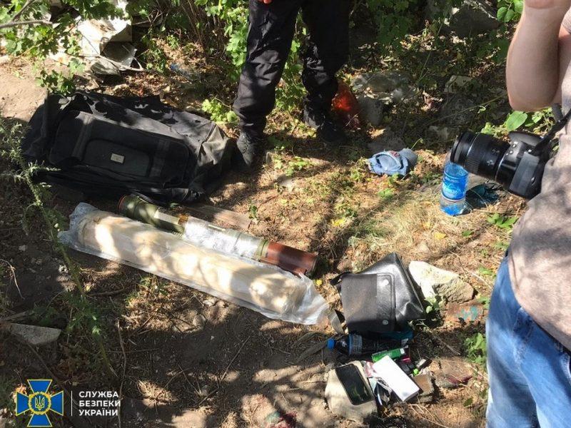 СБУ задержала диверсанта – планировал взорвать цистерны с аммиаком (ФОТО, ВИДЕО)