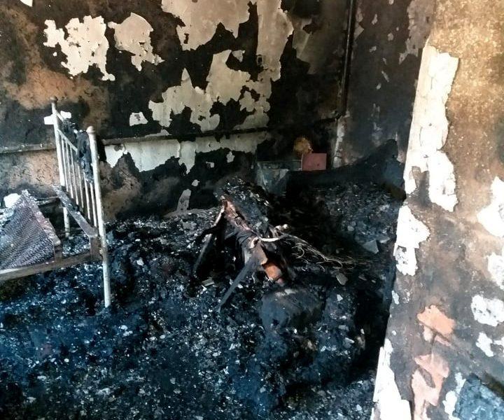 Из-за сигареты. В Николаевской области на пожаре погиб мужчина (ФОТО)