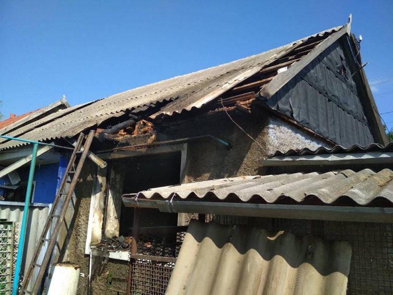 На Николаевщине пожарные потушили пожар в жилом доме (ФОТО)