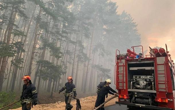 На Луганщине бушуют лесные пожары, горят дома, есть погибшие (ФОТО, ВИДЕО)