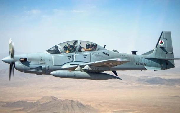В Афганистане при посадке разбился военный самолет