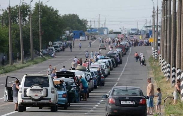 Житель Донбасса умер на пункте пропуска