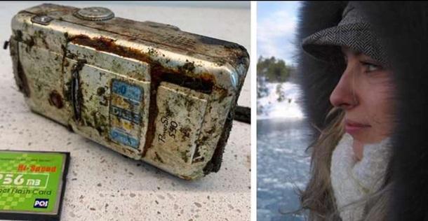 Ныряльщик нашел камеру в море и ищет девушку с фото