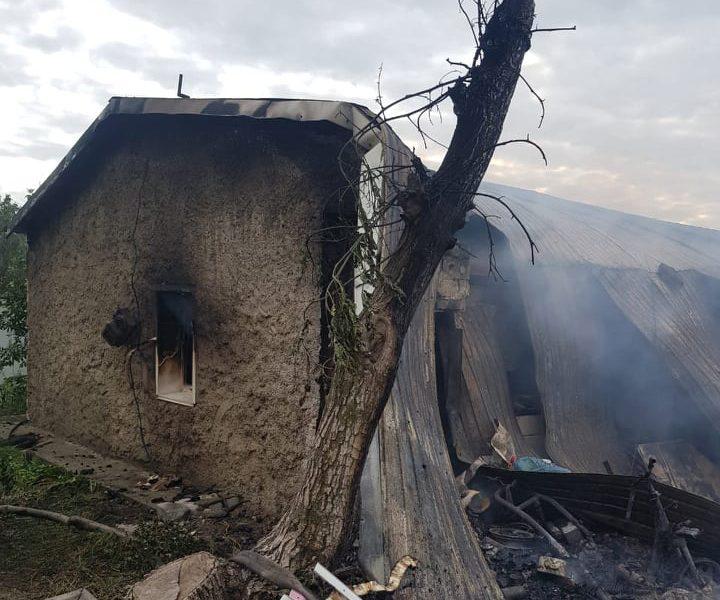 В Николаевской области на пожаре погибли молодые мужчина и женщина (ФОТО)