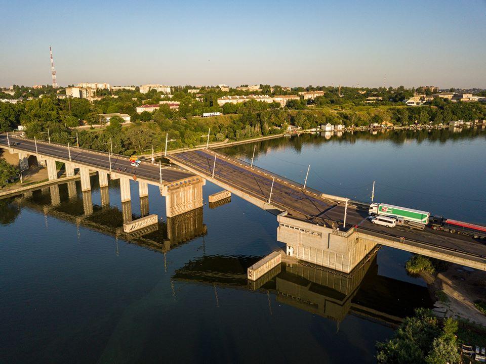 Мост в Николаеве развелся сам по себе (ВИДЕО, ФОТО) 7