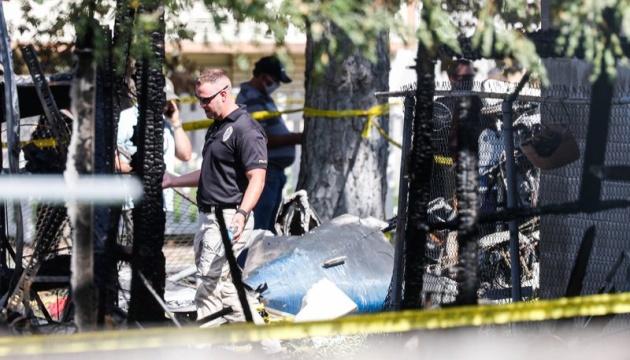 В штате Юта самолет упал на дом, трое погибших