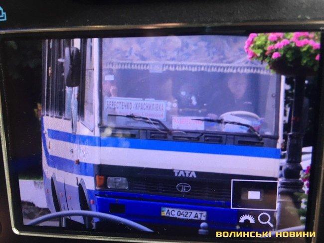 Захватчик автобуса в Луцке задержан (ВИДЕО)
