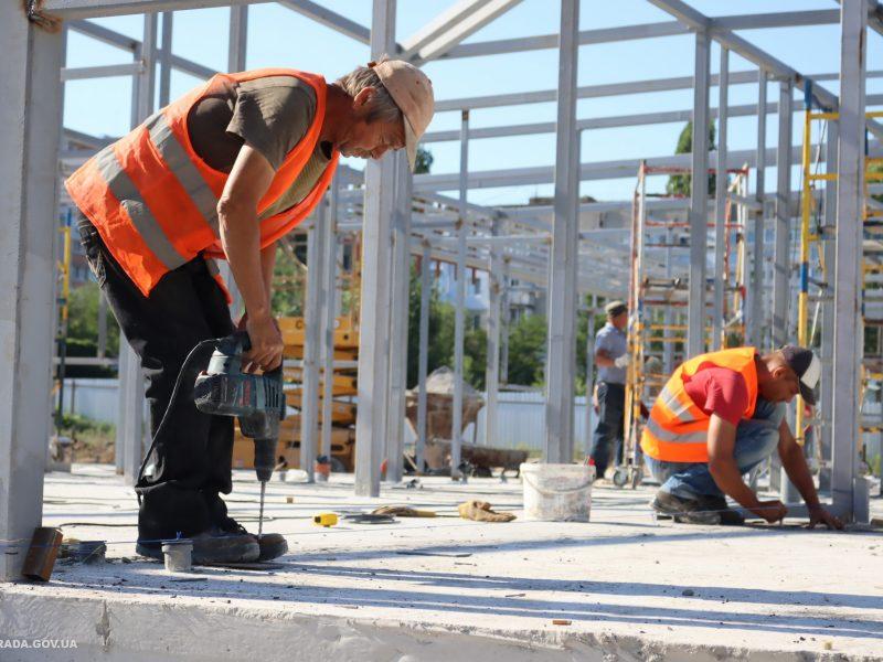 Строительство нового инфекционного отделения больницы № 5 в Николаеве хотят завершить к началу сентября (ФОТО)