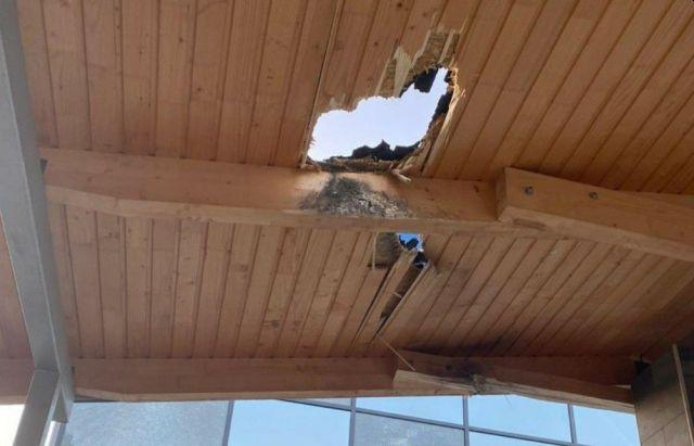 В Мукачево из гранатомета обстреляли комплекс отдыха (ФОТО, ВИДЕО)