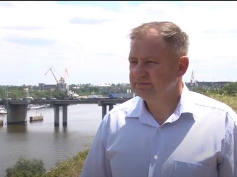 Избирательная комиссия приняла документы Владислава Чайки. Он обратился к николаевцам (ВИДЕО)