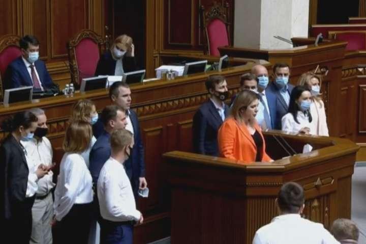 В съезде партии «Голос» отказались участвовать 10 нардепов