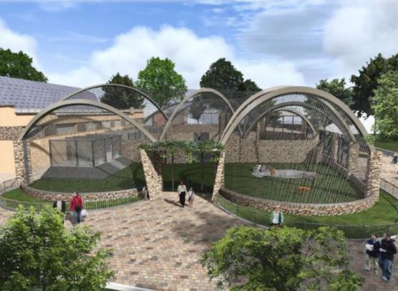 """Летние вольеры """"Острова зверей"""" в Николаевском зоопарке будет строить одесская фирма за 19,7 млн.грн."""