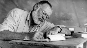 Оказывается. Произведения Хемингуэя многие годы публиковались с ошибками из-за почерка писателя