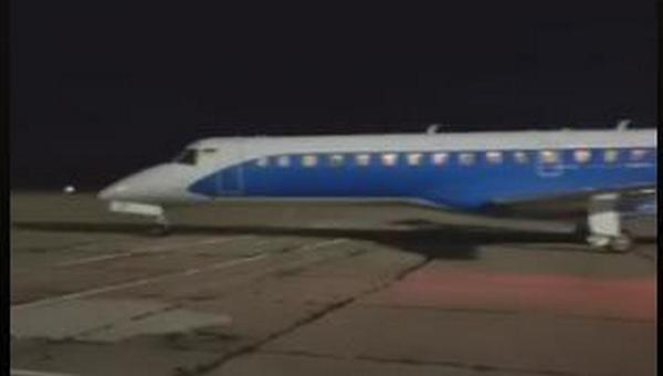 Глава Николаевской ОГА лично встречал пассажиров первого регулярного авиарейса «Николаев-Киев-Николаев» (ВИДЕО)