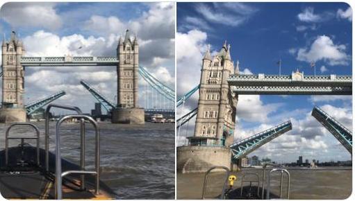 В Лондоне сломался Тауэрский мост