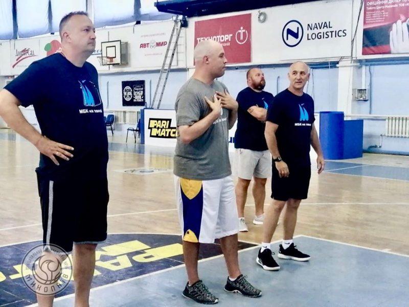Новый главный тренер МБК «Николаев» Крис Томас: «Я люблю быстрый баскетбол»